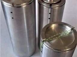 Тубусы металлическе для хранения ключей (капсулы времени)