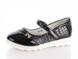 Туфли демисезонные для девочки (черные)