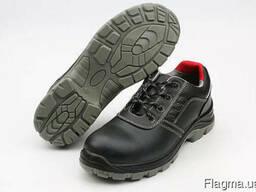 Туфли из черной гладкой кожи Napoli Light