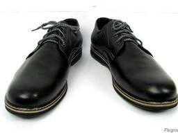 Туфли кожаные ручная работа Hand Made (ТУ – 125) 49 – 49, 5 р
