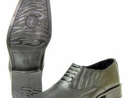 Туфли летние форменные общевойсковые МО (с круглым носом)