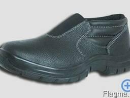 Туфли рабочие, полуботинки рабочие со вставкой ВИ-003а