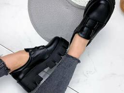 Туфли женские Caspar черный 1944 кожа