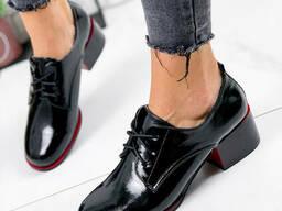 Туфли женские Eelis черные 1825