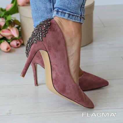 Туфли женские Fashion Pamela 3182 39 размер 25 см Розовый