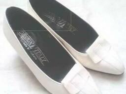 Туфли женские кожаные, размер 36, новые, пр-во Италия, белы