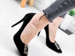 Туфли женские Manolo черные 1869