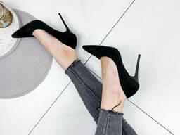 Туфли женские Roza черные 1876