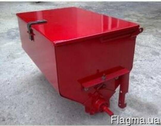 Туковая банка (аппарат туковысевающий) метал/пластик