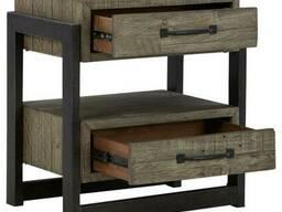 Тумба в стиле Loft для офиса из натурального дерева