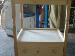 Тумбочка деревянная прикроватная консольная