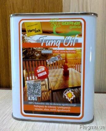 Тунговое масло HartzLack Tung Oil 0.75л
