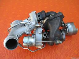 Турбина Mercedes Sprinter bi-turbo 2. 2 cdi