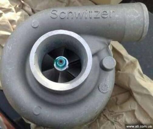 Турбокомпрессор Schwitzer КаМАЗ ( Евро-2,740.13,740.14)