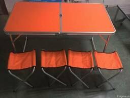 Туристическая мебель для отдыха Welfull FTS1-4, стол 4 стула