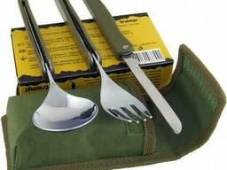 Туристический набор ложка /вилка /нож tramp TRC-049
