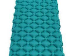 Туристический надувной каремат, надувной пляжный коврик матрас