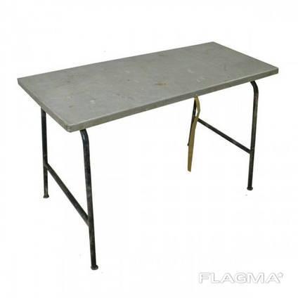 Туристический стол складной дюралюминиевый 1200х520 мм