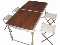 Туристический стол со стульями Picnic Table
