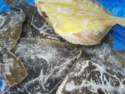 Тушка камбали жовтобрюхої заморожена