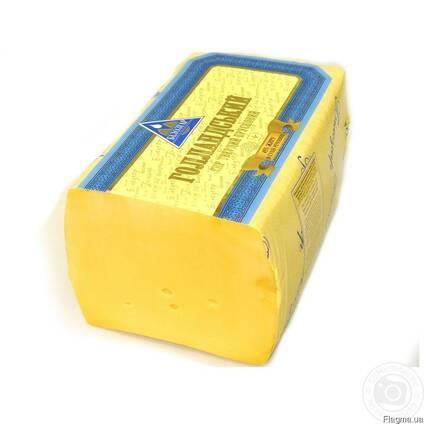 Тверді та плавлені сири, масло