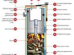 Твердотопливный котел длительного горения Stropuva s 10-U