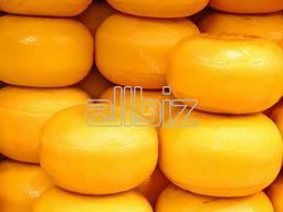 Твёрдый сыр Российский 50% (сырный продукт)