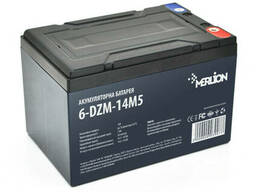 Тяговая аккумуляторная батарея AGM Merlion 6-DZM-14, 12V 14Ah M4 (151х98х104 мм) Q4
