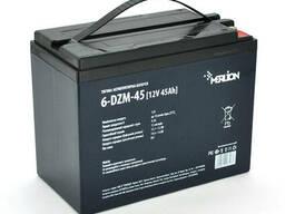 Тяговая аккумуляторная батарея AGM Merlion 6-DZM-45, 12V 45Ah M5 (223*121*175)