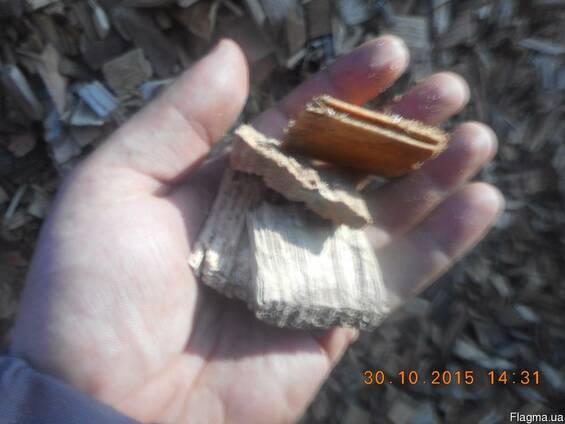 Тырса, опилки, щепа. Отходы деревообработки.