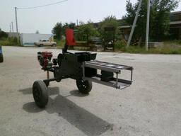 Тюковальщик сена Ярило под бензиновый двигатель (без двигателя)