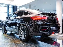 Тюнинг бампер Mercedes GLE Coupe C292