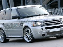 Тюнинг губа Range Rover Sport 2008 2007 2006 2005