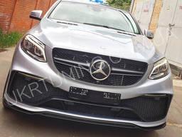 Передний бампер Mercedes GLE Coupe C292