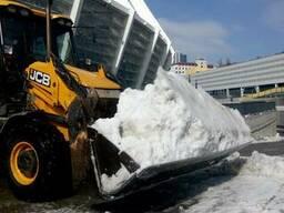 Убока снега. Чистка снега. Погрузка снега. Вывоз снега Киев.