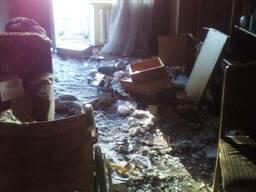 Уборка квартир после пожара . Донецк