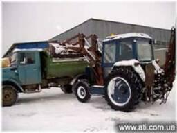 Уборка погрузка вывоз снега