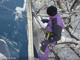 Уборка снега, снятие сосулек