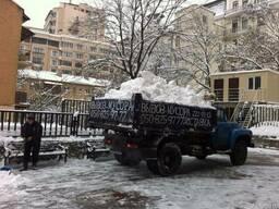 Уборка снега вручную. Вывоз снега 8м. куб. с погрузкой - фото 2