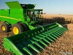 Уборка сои кукурузы подсолнечника зерновых рапса