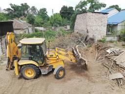 Уборка территории под строительство, продажу. Очистка участка