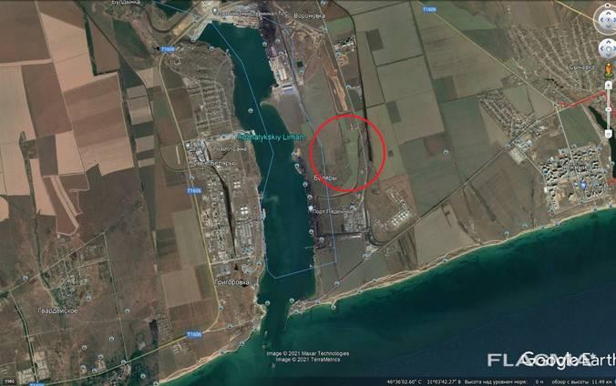Участок 10 га в районе порта Южный (ТИС)