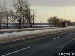 Участок 10 Га вдоль дороги в Барышевском р-не Киевской обл.