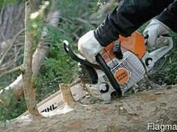 Удаление деревьев\Расчистка-очистка уборка участка.