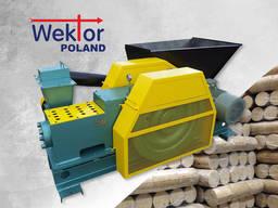Ударно-механический пресс для топливных брикетов