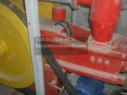 Ударно механический пресс по производству брикета.