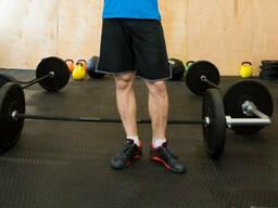 Ударопрочное покрытие для тренажерного фитнесзала – кроссфит