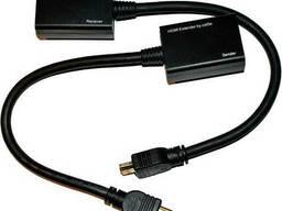 Удлинитель HDMI сигнала пассивный через 2 витые пары 2 CAT-5e/CAT-6e до 30m, цена за пару