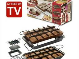 Удобная форма для выпечки Perfect Brownie, Перфект Брауни