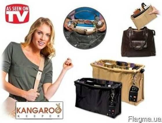 Удобный органайзер для дамской сумки Kangaroo Keeper (Кенгу